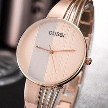 CUSSI Top Brand Womens Watch Quartz Wristwatch Luxury Ladies
