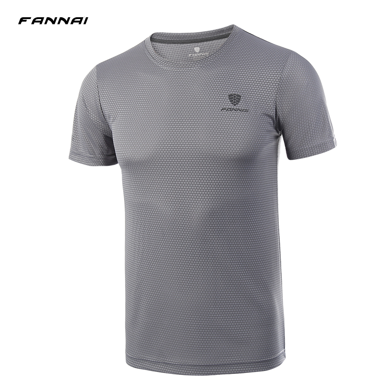 New 2019 Men 39 s Shirt Running T shirts Sports Wear Summer Breathable Quick Dry Outdoor Short Sleeve T shirt Soccer Jersey in Running T Shirts from Sports amp Entertainment
