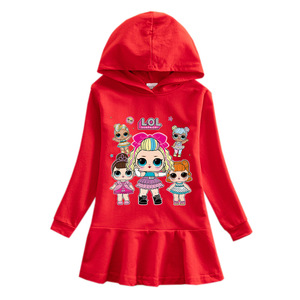 L.O.L. Сюрприз! Детское демисезонное платье с героями мультфильмов, детская одежда для девочек от 10 до 12, платья, платья для девочек, платья для девочек|Персонажи мультфильмов и кино|   | АлиЭкспресс