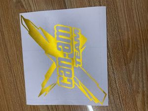 Image 5 - Pegatina de vinilo para coche del equipo Can am de 18x16,1 cm, nuevo estilo, accesorios para el cuerpo, gráficos geniales, decoración para el coche