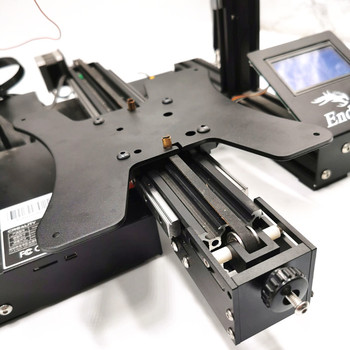 Funssor Creality Ender 3 V2 upgrade Y-AXIS zestaw adapterów liniowych ENDER-3 Pro podwójny zestaw szyn liniowych Hiwin tanie i dobre opinie CN (pochodzenie) Części sprzętu Części do maszyn Y axis dual linear kit Creality Ender3 ender3 pro and ender 3 V2