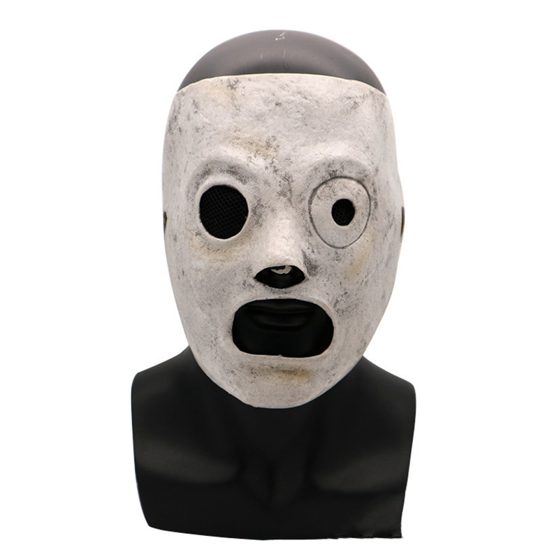 Image 2 - Slipknot Mask Event Corey Taylor Cosplay Latex Mask Halloween Slipknot Mask Adult party Costume Props-in Boys Costume Accessories from Novelty & Special Use