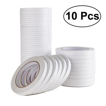 1.2x800cm Double-Sided Adhesive Tape for Arts Crafts Photography Scrapbooking Gift Wrapping Office School Stationery Supplies selling 10 piece lot office adhesive tape high quality brand double sided tape office school stationery