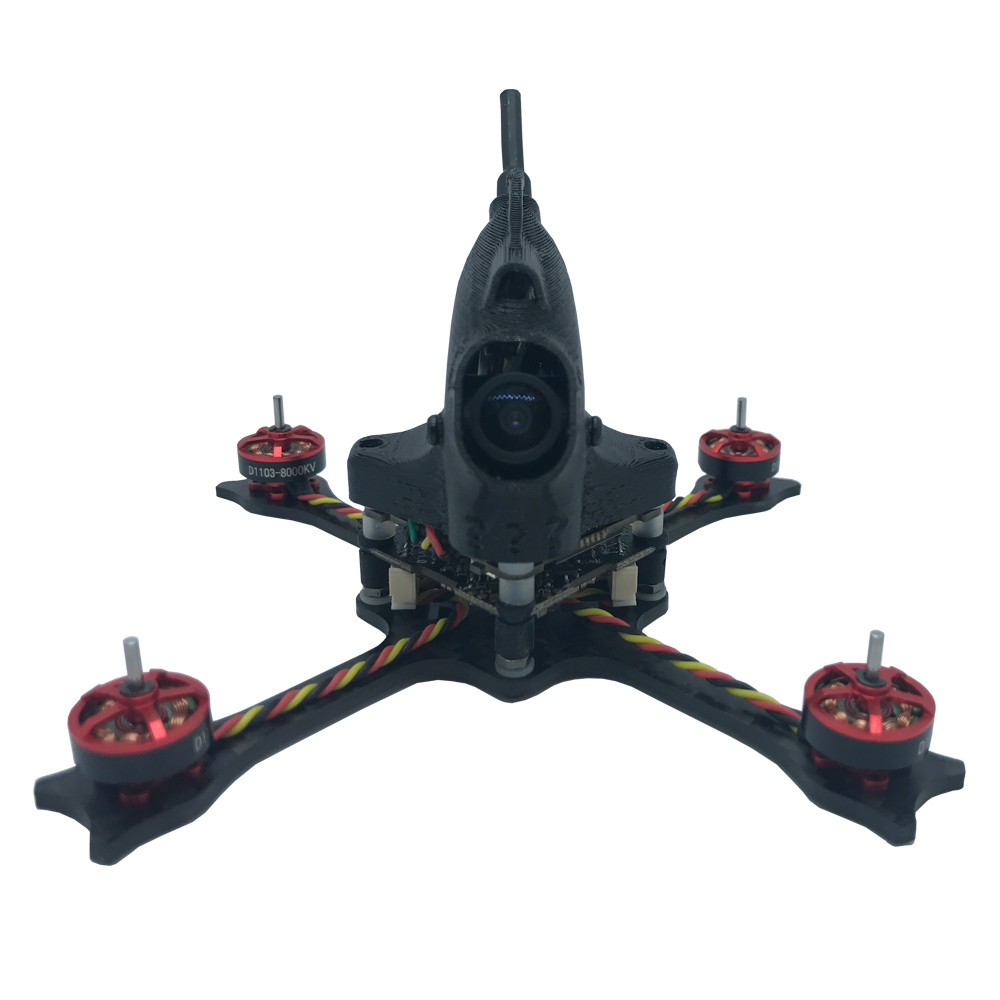 NameLessRC N47 HD 105mm F4 2-3S 2.5 Inch <font><b>FPV</b></font> <font><b>Racing</b></font> <font><b>Drone</b></font> PNP BNF w/ Caddx Baby Turtle Camera image