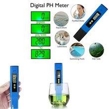 Digitale PH Meter Digital PH-Wert Schaden Tester Wasser MessgeräT PH-Stift PH-Meter FüR Aquarium, pool Arge LCD Display