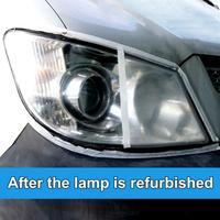 10/30ML High Density Headlight Polish Liquid Car Restoration Fluid Durable Car Repair set with towel sponge car washing kitTSLM1 5