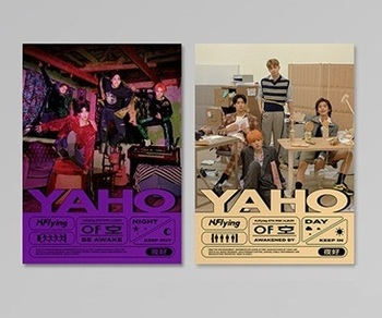 [MYKPOP]~100% OFFICIAL ORIGINAL~  N.FLYING 6TH MINI: BE AWAKE / AWAKENED BY, KPOP Fans Collection - SA19111801