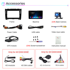 Image 5 - Junsun V1 2G+32G Android 10 Car Radio Multimedia Video Player Navi GPS For Haval Hover Great Wall H5 H3 2011 2016 2din