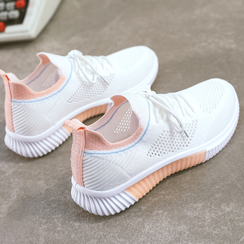 Woman Fashion Casual Women Sneakers Vulcanized Shoes Mesh Platform Outdoor Breathable Female