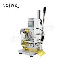 New Digital Display Temperature Control Small Manual Hot Stamping Machine leather Wood full Version of The Scale Bottom Plate цена в Москве и Питере