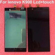 """Cho 5.5 """"Lenovo K900 Màn Hình LCD Hiển Thị Màn Hình Cảm Ứng Bộ Số Hóa Các Bộ Phận Thay Thế Cho LENOVO K900 Màn Hình Hiển Thị"""