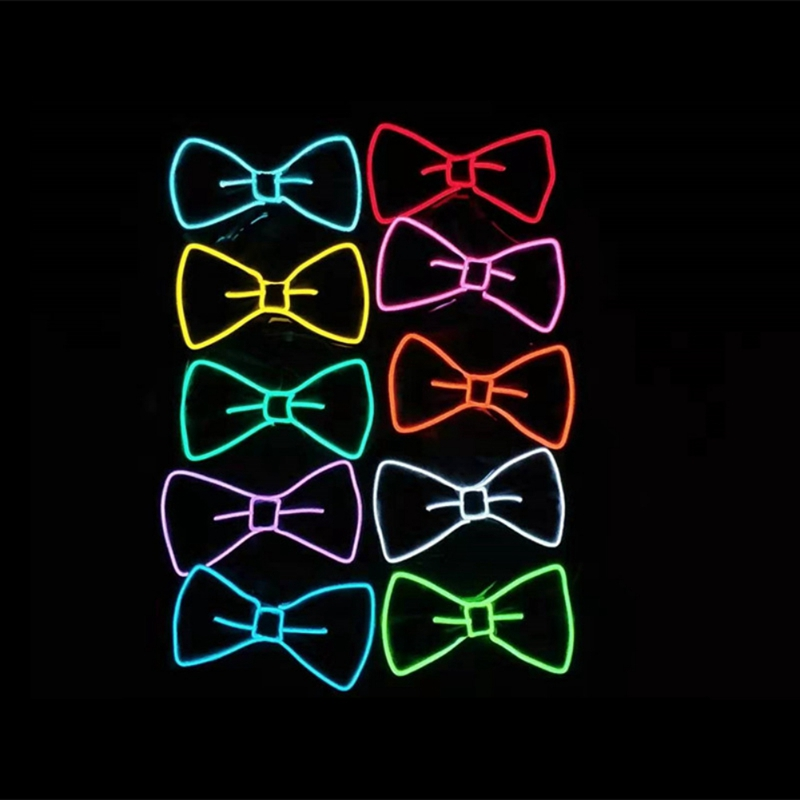 Glowing LED Bow Tie 7