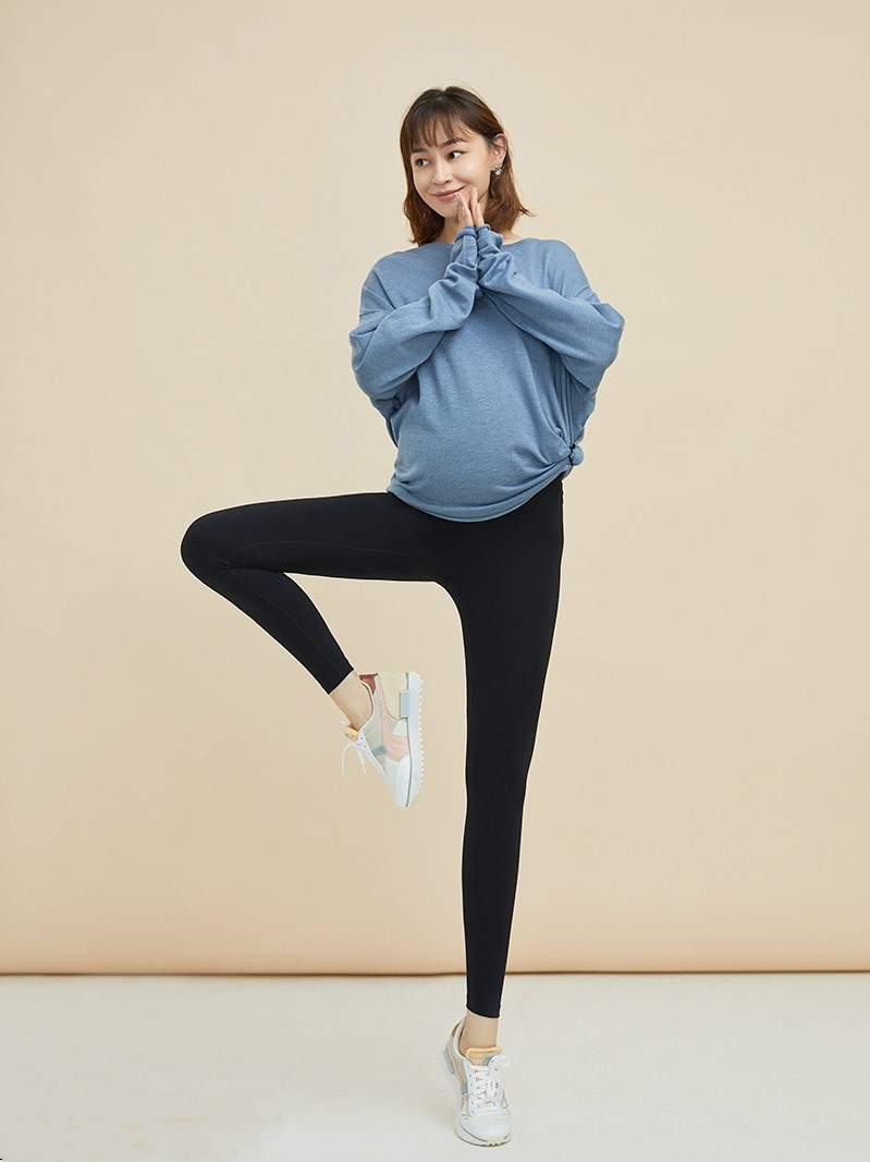 Pregnant Women Leggings Elastic High And Adjustable Waist Pants Underwear ThickenTight Maternity Clothes