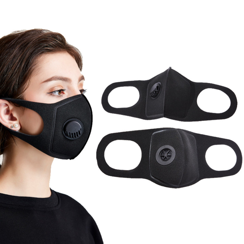 In Stock! 1Pcs Mask Dust Mask PM2.5 Activated Carbon Filter Washable Reusable Mask To Keep Warm