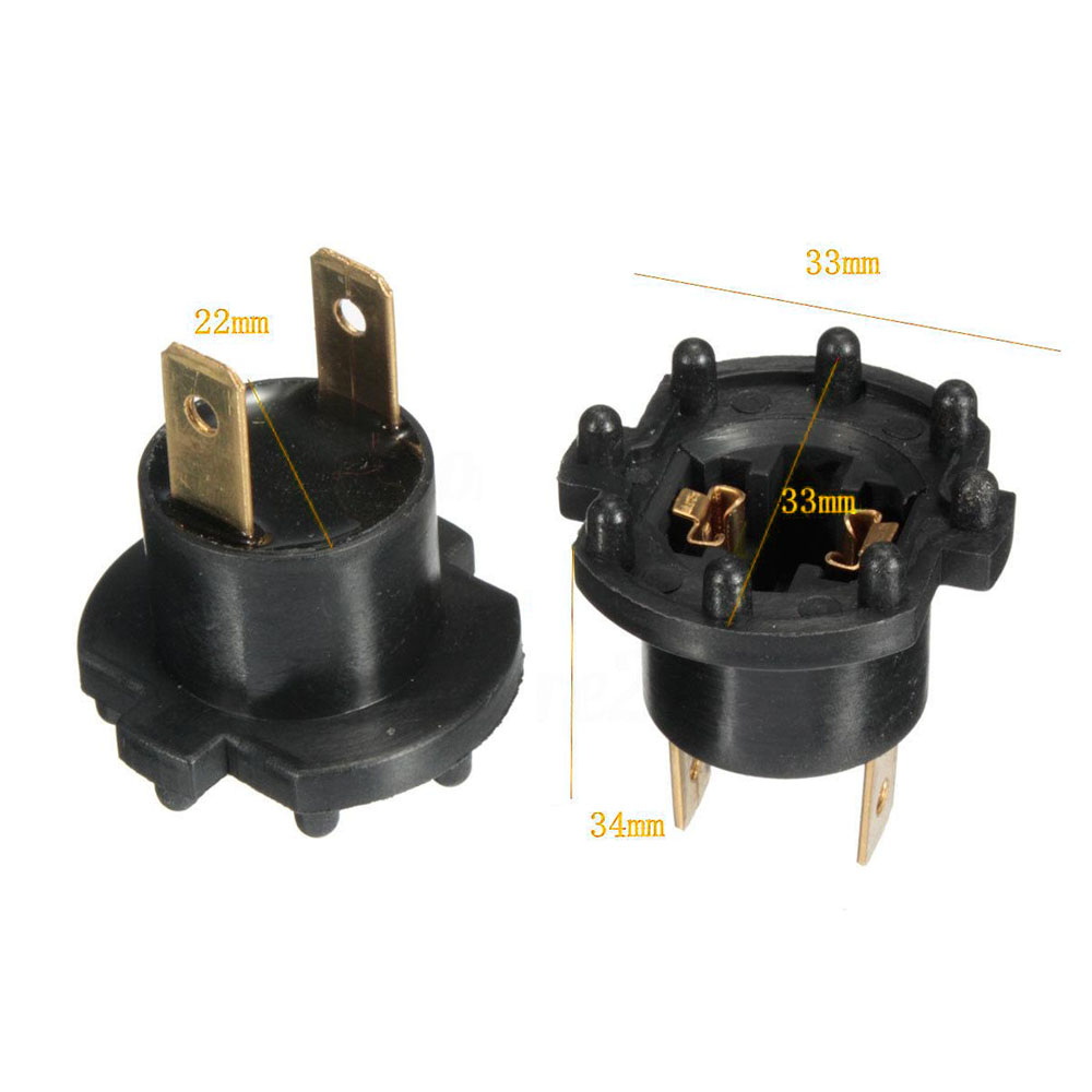 2pcs Set For Mazda 3 5 323 Kawasaki Aprilia Headlight Socket Holder B28V510A3A