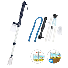 aquarium cleaner fish tank sand cleaner kit with air pressing button and adjustable water flow controller clamp for fish tank Fish Tank Vacuum Syphon Cleaner Kit Powerful Siphon Pump Water Filter Aquarium Cleaner Siphon Cleaning Tool For Gravel Sand​
