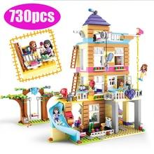 10859 legoinglys amigos regalos juguetes para niños serie amistad casa conjunto bloques de construcción niños regalos regalo