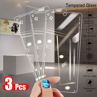 Protector de pantalla de cristal templado para móvil, película protectora de seguridad para huawei p50, p40, p30 lite, p20 pro, p10, p9 mini, p 40, 30, 20, 10, 9, 3 uds.