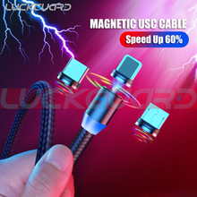 Magnetic USB Type C Cable Data Charger For Android Phone Micro USB Cable Fast Charging USB Cord For iPhone Samsung Xiaomi Cable цены