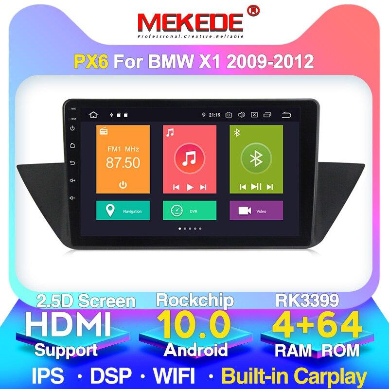 新システム!PX6アンドロイド10.0車のgps gpsナビゲーションbmw X1 E84 2009-2013 hdmi 4グラムwifi carplay dsp ipsスクリーン