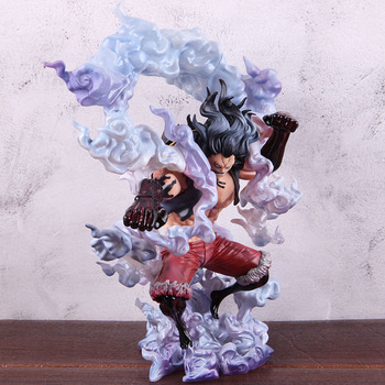 Anime One Piece Figure Gear 4 Monkey D Luffy The Snake Man King of Artist Luffy Action Figure PVC Collectible Model Toy