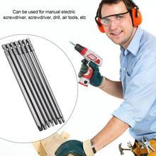 7 шт. Электрический квадратный набор отверток Набор бит с шестигранной ручкой 150 мм точно сильная Магнитная сталь высокого качества