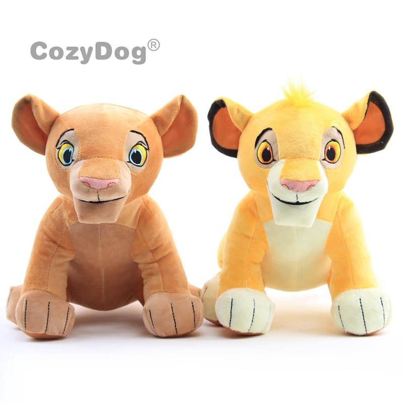 27CM Simba The Lion King Plush Toys New Movie Simba Soft Stuffed Animals Nala Doll Children Kids Birthday Christmas Gift