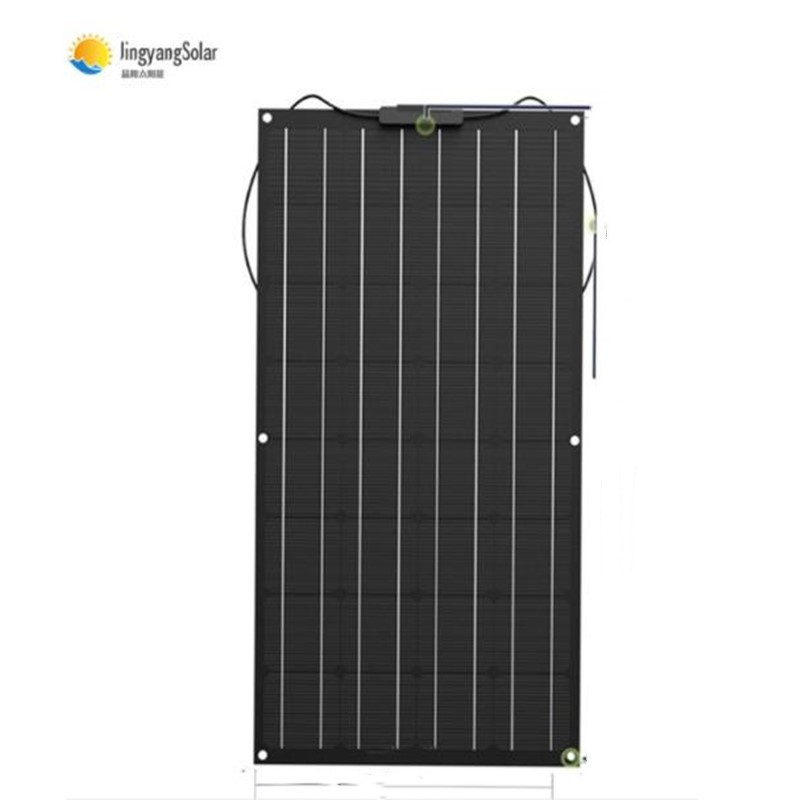 solar panel 200w 100w strongly recommend 100W flexible solar panel For 12V battery charger Monocrystalline cell|semi flexible solar panel|panel 100w|100w flexible solar panel - title=
