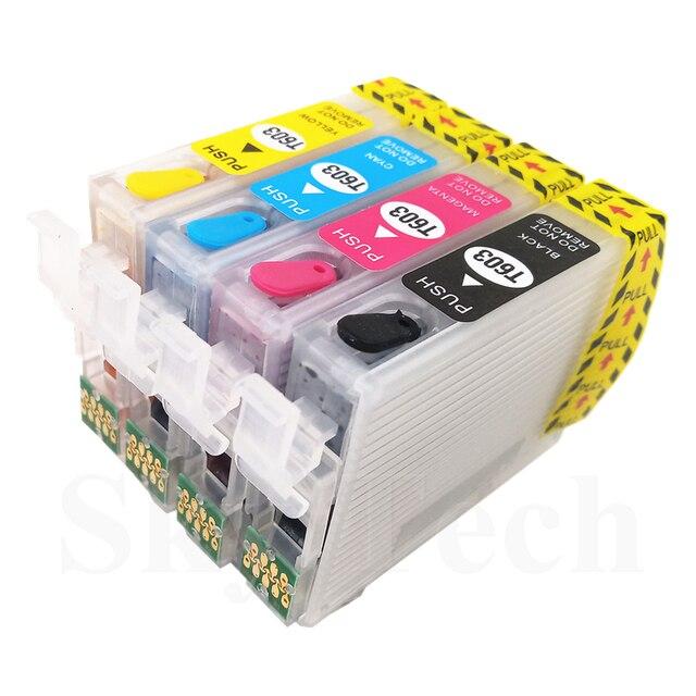 T603XL T603 603 Cartuccia Riutilizzabile Con ARC, Per Epson XP-2100 XP-2105 XP-3100 XP-3105 XP-4100 XP-4105 WF-2810 WF-2850