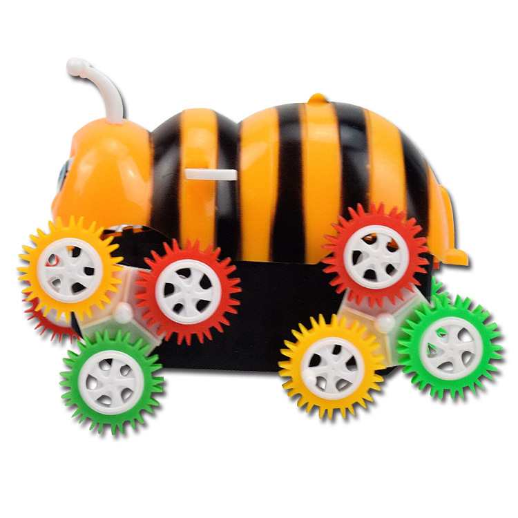 Creative Novelty Children Electric Tilting Bees Toy Car Boy Kindergarten Gift Stall Hot Selling