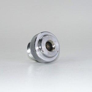 "Image 4 - מתאם CGA600 כדי 7/16 "" 28UNF עבור Braze ריתוך לפיד MAPP פרופאן גז לפיד חימום הלחמה צורב מתאם Catridge"