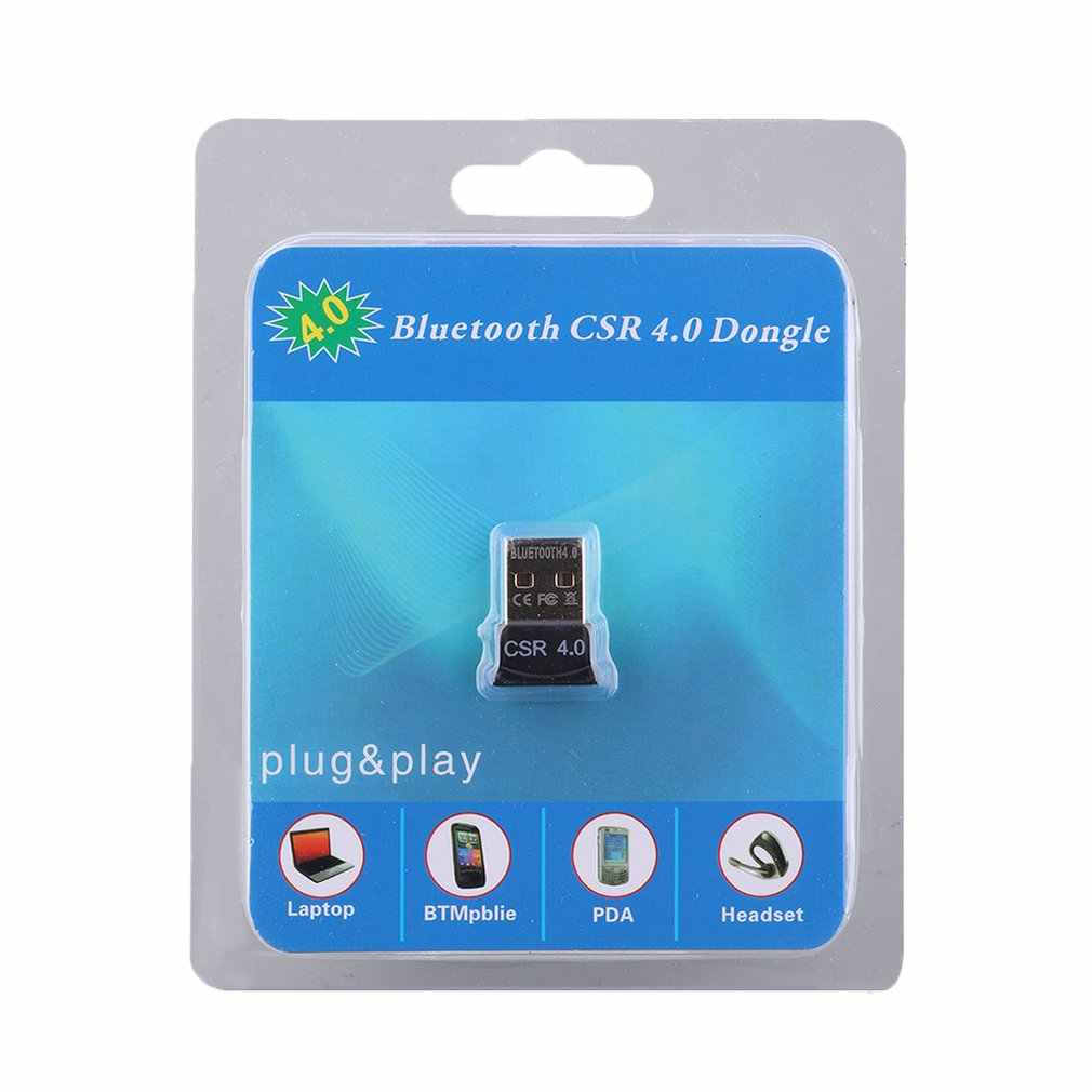Usb Bluetooth Dongle Adapter 4.0 untuk PC Speaker Komputer Mouse Nirkabel Bluetooth Musik Audio Receiver Transmitter APTX