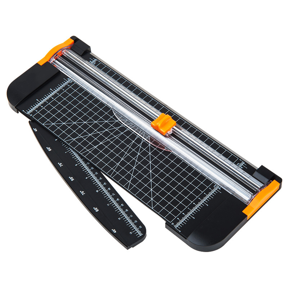 Paper Trimmer 12 Inch A4 Size Paper Cutter With Automatic Security Safeguard For Office School High Quality