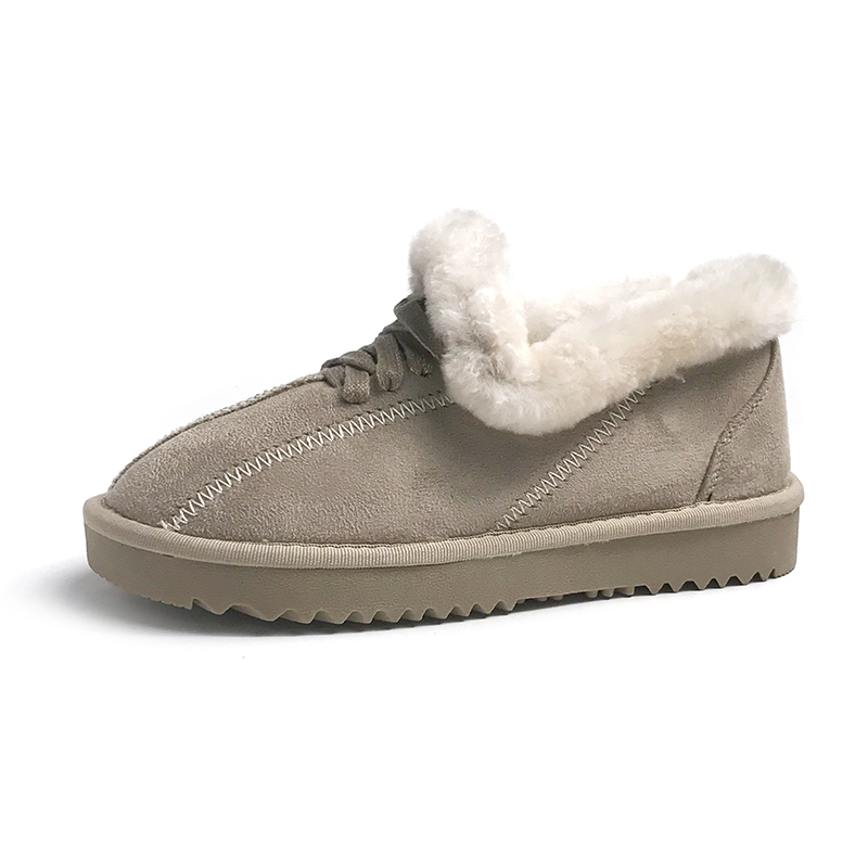 2019 New Arrival Winter Boot Pink Solid Color Fashion Casual Fur Warm Comfortable High Quality Fashion Women Winter Shoes 42