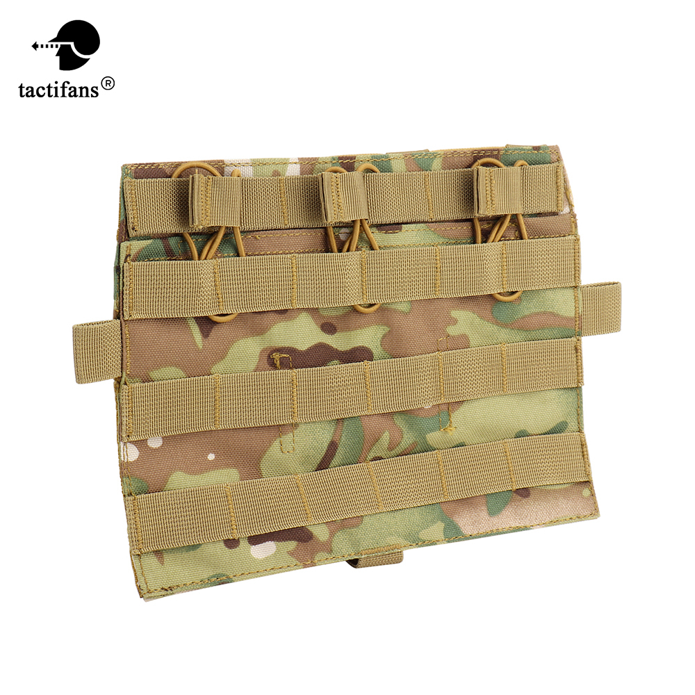 Tactical QD JPC 2.0 Front Molle Panel AVS Detachable Flap Vest System Component Hunting Airsoft Paintball Accessories