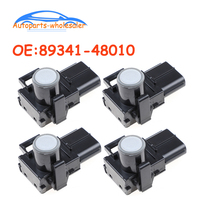 4 pcs/lot Car Auto Parts PDC Parking Sensor For Toyota Camry For Corolla Tundra For Lexus RX350 89341 48010 8934148010|Parking Sensors| |  -