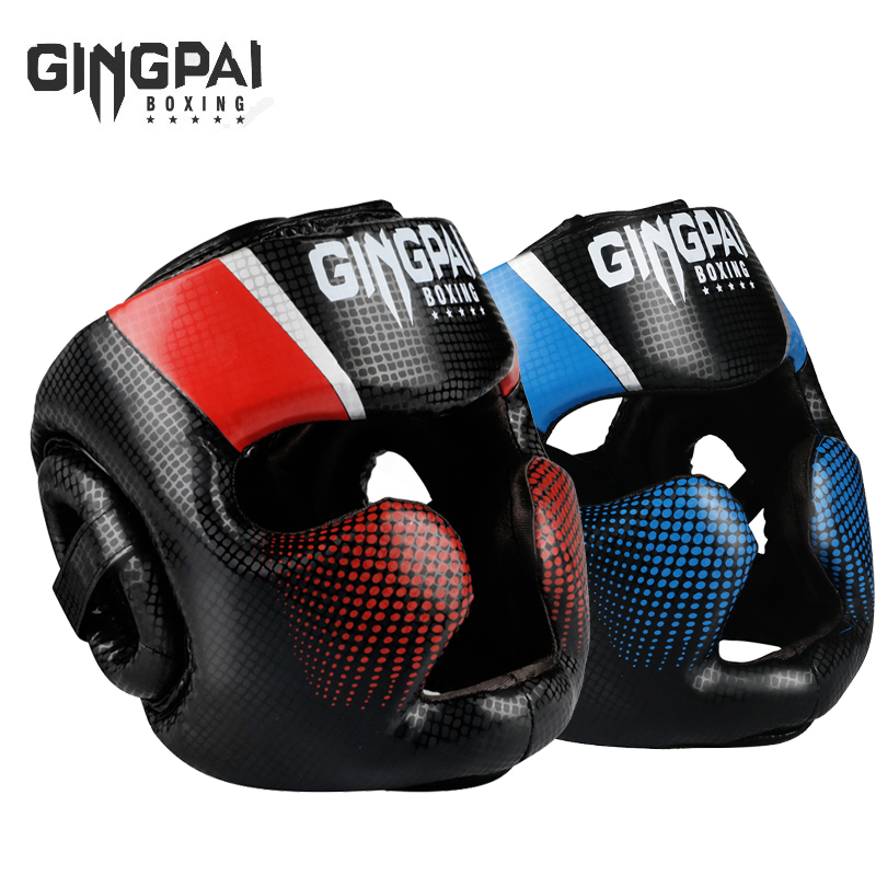 Kids Kick Boxing MMA Thai Training Head Guard Protector Pad Martial Art Gear