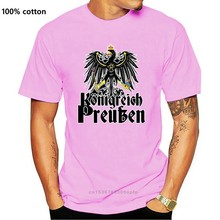 Camisa masculina 2019 verão t camisa topos camisetas plus size camiseta reino da prússia-koenigreich preussen camisetas masculinas casuais