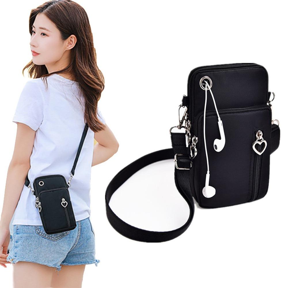 Women Summer Bag Shoulder Strap Messenger Chest Bag Wallet Multifunction Mobile Phone Bag Coin Purse Crossbody Bags for Women