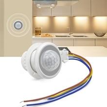 Detector Light-Switch Motion-Sensor Highly-Sensitive 110V-220V Time-Delay Adjustable