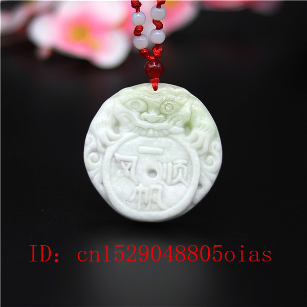 Natural White Chines Jade Tiger Pendant Necklace Charm Jewellery Fashion Accessories Carved Amulet Gifts For Women Men