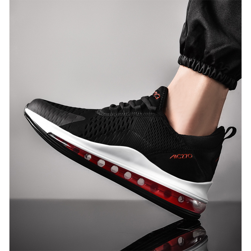 2019 Spring New hot Air Sole Sneakers man Running Shoes men for adults Trainers Lace up Outdoors Athletic Comfortable Sport Shoe in Running Shoes from Sports Entertainment