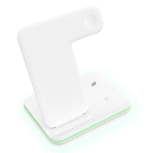 Image 4 - Charging Dock Holder For Iphone XS max 11 Pro max Iphone 8 Plus Silicone charging stand Dock Station For Apple iwatch Airpods