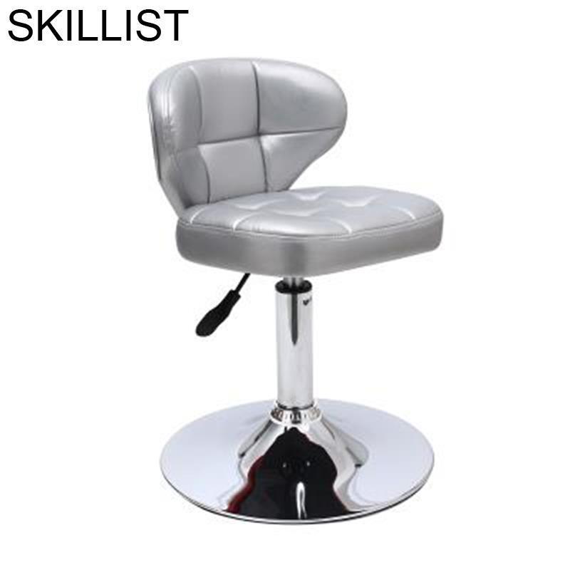 Kruk Sandalyesi Tabouret De Comptoir Barkrukken Stoel Taburete Sgabello Barstool Leather Cadeira Silla Stool Modern Bar Chair