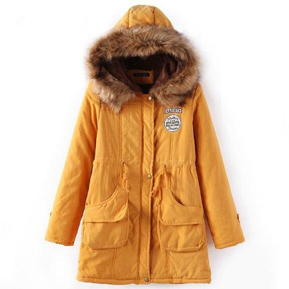 ZOGAA 2019 Women   Parkas   Female Winter Hooded Coat Thickening Cotton Winter Jacket Womens Warm   Parkas   for Women Winter 13 COLORS