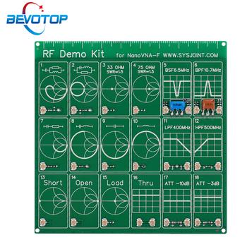 Zestaw demonstracyjny RF dla NanoVNA VNA RF płyta testowa wektor Test sieci filtr tłumik analizatory sieciowe instrumenty elektryczne tanie i dobre opinie CN (pochodzenie) RF Test Board 100mm*100mm RF Demo Kit
