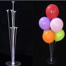 7/10 tube balloon stand birthday balloons arch stick holder birthday party decorations kids ballon wedding decor baloon globos