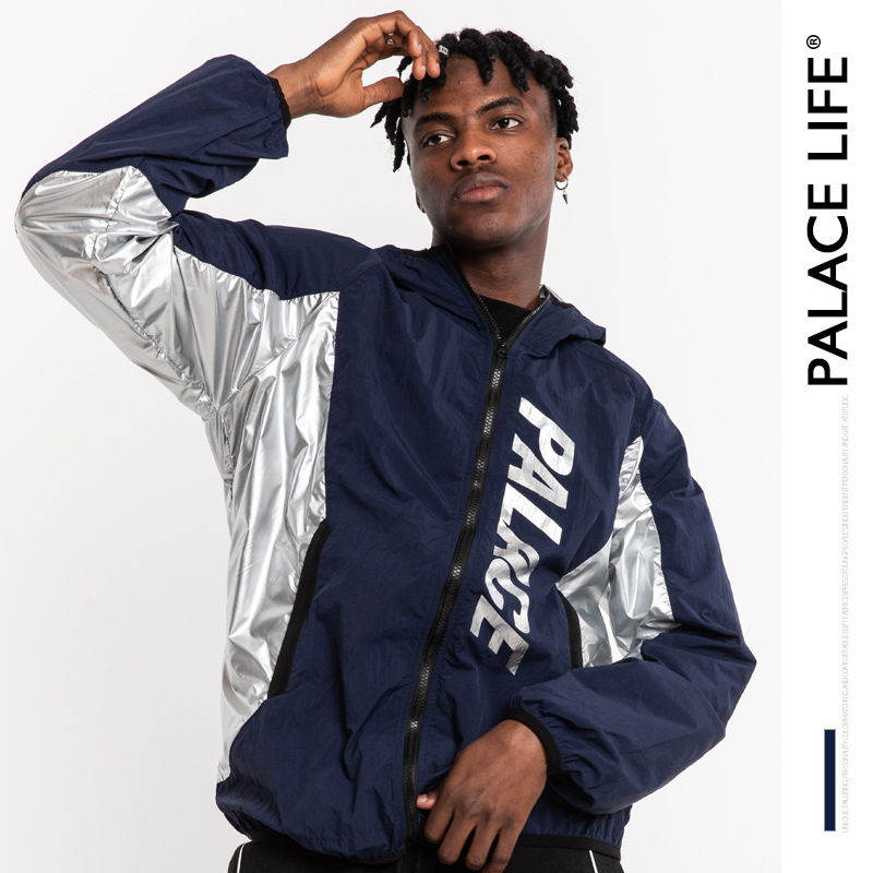 Palace Life Europe And America Popular Brand Men'S Wear Loose-Fit Couples Casual Joint Couples Raincoat Jacket Men Jacket