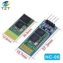 HC06 HC 06 Беспроводной Серийный 4 Pin Bluetooth радиочастотный приемопередатчик модуль RS232 TTL для модуль Arduino bluetooth