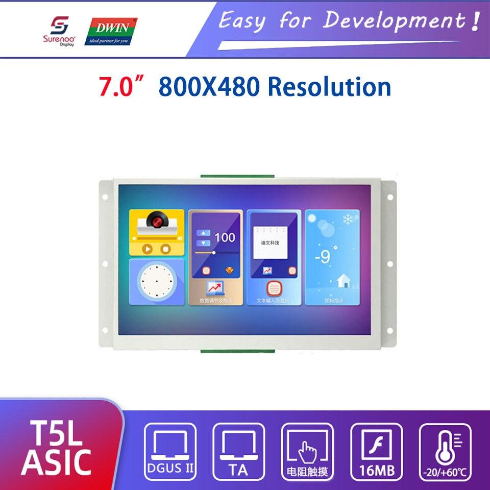 Dwin T5L HMI Intelligent Display, DMG80480L070_01WTR 7